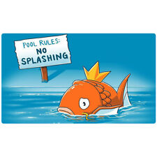 FREE SHIPPING Custom Pokemon Playmat Magikarp Play Mat Splash