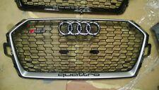 Audi RS4 8W OEM 2017 2018 Kühlergrill Grille New Neu original 8W0853653AT silver