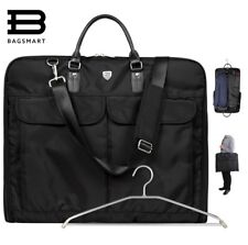 Suit Carry On Garment Bag For Travel Business Trips Shoulder Strap Dress Jacket