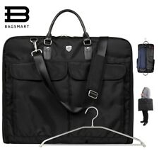 Suit Carry On Garment Bag For Travel Business Trips Shoulder Strap Dress Jacket