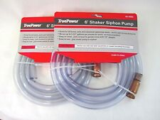 2PC 6FT (3.5GPM) SHAKER SIPHON PUMP / PUMPING TUBE / HOSE & SIPHON #13210