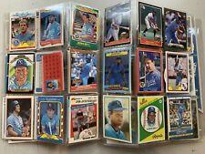 George Brett Kansas City Royals 83 Card Lot TOPPS FLEER SPORTFLIC DONRUS ODDBALL