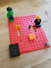 Lego double light switch cover 3D printed