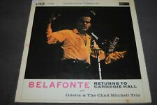 "HARRY BELAFONTE ""Returns To Carnegie Hall"" LP VINYL / RCA RECORDS - SF5088"