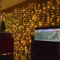 2/3/4/5/10m LED Christmas xmas String Fairy Wedding Curtain Light Party Decor QY