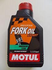 MOTUL FORK OIL EXPERT 10W OLIO IDRAULICO PER FORCELLE GRADAZIONE 10W