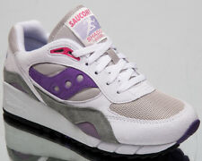 Saucony Shadow 6000 Mens White Grey Casual Lifestyle Shoes Sneakers S70441-2