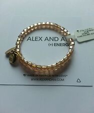 Alex and Ani Swarovski Crystal Blush Bangle Bracelet NWT Box Starry Eyed