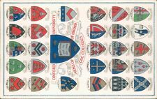 Oxford university coats of arms of the colleges alfred savage local publisher