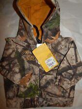 Cabelas Infant Jacket 3 6 M Camo Hooded Sweatshirt Top Infant Green Brown Gift