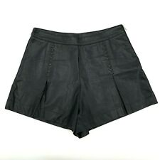 Forever 21 Faux Leather Shorts Womens Size Medium High Waisted