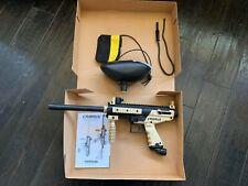 Used Tippmann Cronus Paintball Marker Gun w/ barrel bag, barrel plug, and hopper