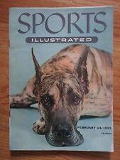 Great Dane Sports Illustrated 2/14/55 Magazine No Label