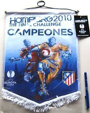 BANDERIN ATLETICO MADRID GRANDE CAMPEON EUROPA LEAGUE 2010 39x30 PENNANT WIMPEL