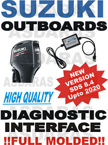 Professional SUZUKI Outboard Boat Diagnostic Kit Cable Interface USB SDS 8.40