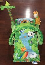 Fisher-Price Rainforest 1 2 3 Baby Musical Activity Center Gym Play Mat €