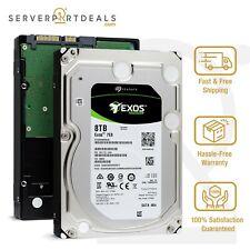 """Seagate Exos 7E8 8TB 7200 RPM 4Kn SATA 6Gb/s 3.5"""" Enterprise HDD - ST8000NM0045"""