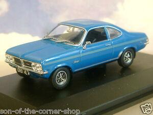 Superbo Oxford Diecast 1/43 1971-75 Vauxhall Firenza Sport Sl Sialia Blu VF001
