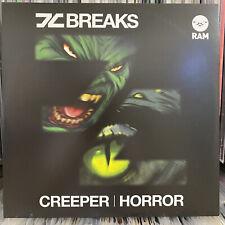 """DC BREAKS - CREEPER / HORROR (12"""")  2011!!!  RARE!!!  DAN HAVERS + CHRIS PAGE!!!"""