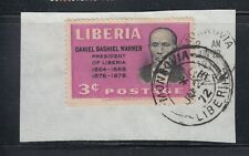 Liberia # 315a Used On Piece ERROR