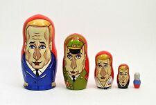 5 pcs Russian Nesting Doll PRESIDENT PUTIN #3649