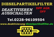 Dieselpartikelfilter Vw Caddy 1.9TDi 2.0TDI Deaktivierung Deaktivieren DPF off