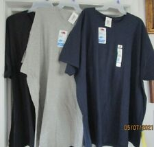 FRUIT OF THE LOOM MEN'S  SHORT SLEEVE T SHIRTS SIZE 4 XL..3 COLORS TO CHOOSE FRO
