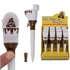 Emoji Poo Pen Poop in Toilet Secret Santa Kids Boys Girls Stocking Filler Gift
