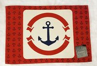NAUTICAL & BEAUTIFUL BEACH THEME PLACEMAT/TAPESTRY JUTE  (Free Shipping)