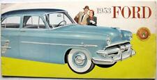 FORD Range Original Car Sales Brochure 1953 #7391