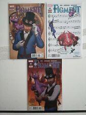 Figment #1+3+5 Comic Book Disney Kingdoms Marvel Comics 1st Print 2014