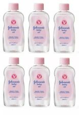 6 x Johnson's Baby Oil 300ml clinically proven mildness, locks in moisture NEW