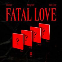 MONSTA X - FATAL LOVE 3rd Regular KPOP Album CD+Photobook+Sticker+Tracking
