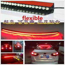 36 inch Red 7500K Roofline LED Third High Brake Tail Light Above Rear Windshield