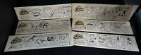 Broome Sweepings (LOT B)- Original Comic Strip art lot of 6 by Jack B. Bryan!
