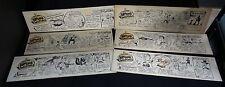 Broome Sweepings (LOT B)- Original Comic Strip art lot of 6 by Jack B. Bryan!