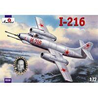 Amodel 72237 Alekseyev I-216, 1/72 scale plastic model kit