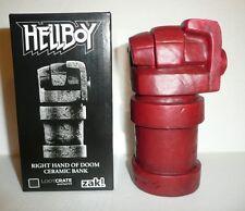 Hellboy Red Right Hand of Doom Ceramic Money Bank Figure Figurine Dark Horse NEW