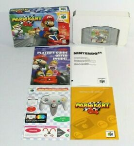 Mario Kart 64 N64 Nintendo 64 Complete CIB Authentic! NICE w/ All Inserts!