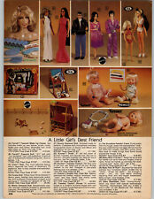 1978 PAPER AD Farrah Fawcett Make Up Malibu Barbie Doll Black Christie Dodi