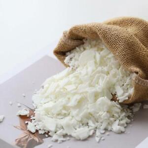 1 kg Sojawachs Sojawachsflocken 100% reines sauberes Brennen ohne Ruß natürliche