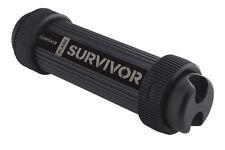 Corsair Cmfss3b-512 Survivor Stealth X2 512 GB USB 3.0 Rugged Flash Drive - Blac