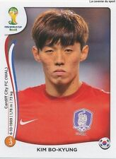 N°634 KIM BO-KYUNG # KOREA REPUBLIC STICKER PANINI WORLD CUP BRAZIL 2014