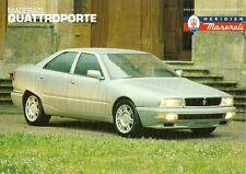 Maserati Quattroporte 2.8 1994-95 UK Market Leaflet Sales Brochure