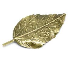 5 Feuille Filigrane Bronze Antique embellissements conclusions pour fabrication carte artisanat 886
