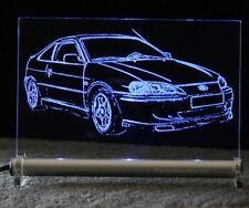 Toyota Paseo   als AutoGravur auf LED Leuchtschild Andenken Präsent