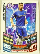 Match Attax 2012/13 Premier League - #044 John Terry - Chelsea