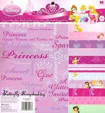 DISNEY PRINCESS 12x12 Paper Pad Scrapbook Kit EK SUCCES