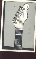 TARDI Jacque Guitare carte postale cp 1/8 postcard postkaart postkarte cartolina