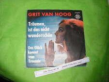 """7"""" Schlager Grit Van Hoog - Träumen ist das nicht wunderschön TELEFUNKEN"""
